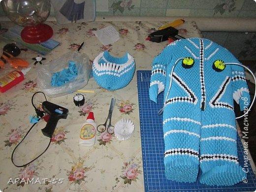 Здравствуйте!!!  Вот ещё одну работу представляю на конкурс. Создался образ космонавта. К полету готов. Высота 60 см. Смотрите. фото 7