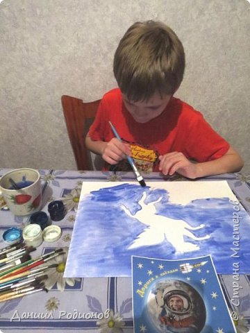 "Я нарисовал героя, которому посвящено созвездие ""Пегас"". фото 3"