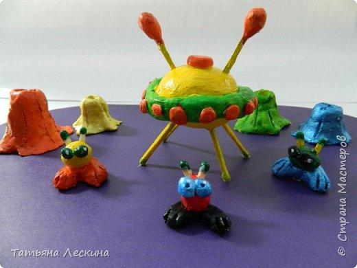"""Композиция """"Инопланетные друзья"""" выполнена Соней Загороднюк, 13 лет, второй год обучения в студии """"Основы дизайна"""". фото 1"""