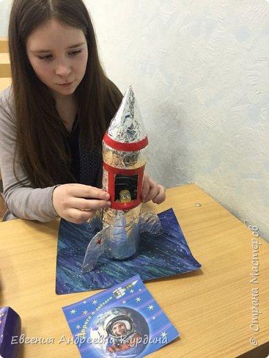 Валерия, сделала работу из подручных материалов. фото 1