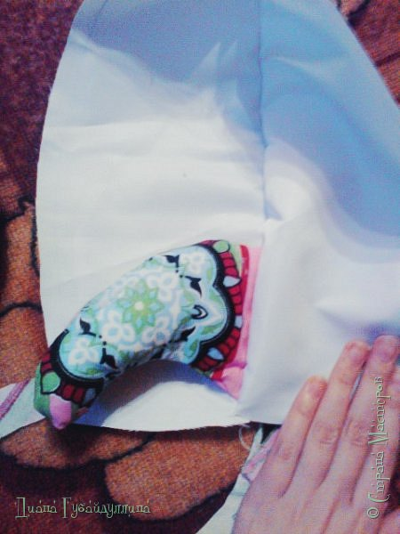 Сделала подушку-ракету,она такая мягкая,с ней приятно спать.Делать её легко. фото 5