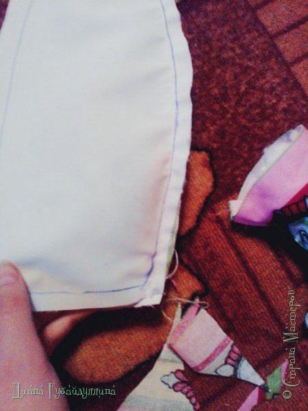 Сделала подушку-ракету,она такая мягкая,с ней приятно спать.Делать её легко. фото 6
