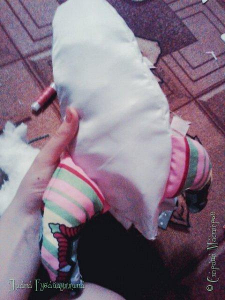 Сделала подушку-ракету,она такая мягкая,с ней приятно спать.Делать её легко. фото 8