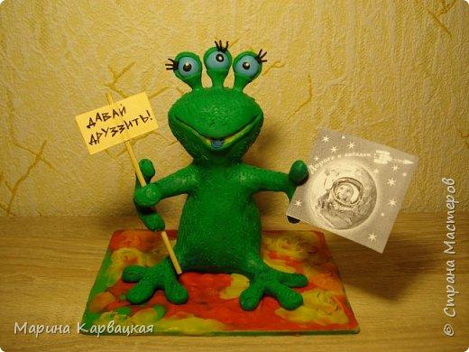 Дорогие друзья! Рада представить вам Зеленого Лупоглазика. фото 5