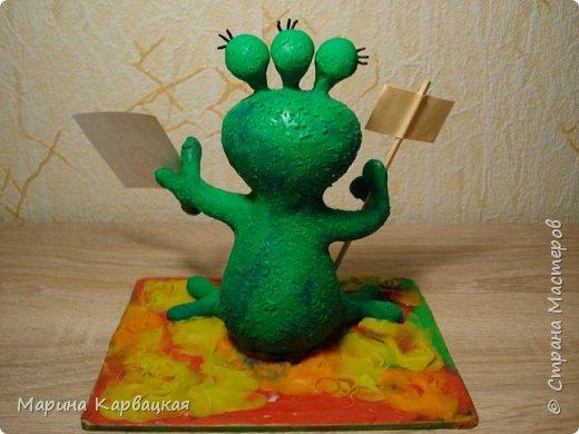 Дорогие друзья! Рада представить вам Зеленого Лупоглазика. фото 7