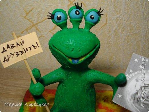 Дорогие друзья! Рада представить вам Зеленого Лупоглазика. фото 8