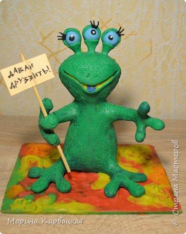 Дорогие друзья! Рада представить вам Зеленого Лупоглазика. фото 1