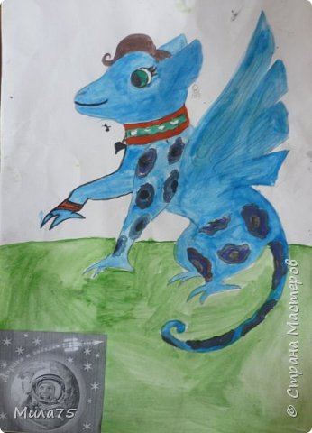 """Моя работа """"Мифический дракон"""" фото 1"""