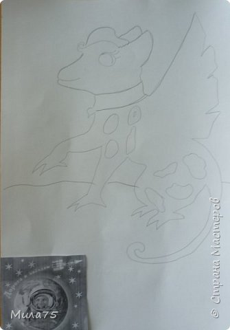 """Моя работа """"Мифический дракон"""" фото 3"""