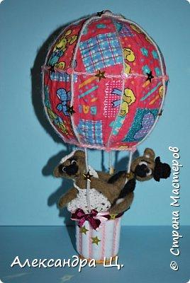 Аэростат - упрощенно воздушный шар,  воздухоплавательный аппарат легче воздуха.  Лена смастерила  свой, сувенирный, многофункциональный  воздушный шар.   фото 5