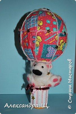 Аэростат - упрощенно воздушный шар,  воздухоплавательный аппарат легче воздуха.  Лена смастерила  свой, сувенирный, многофункциональный  воздушный шар.   фото 6