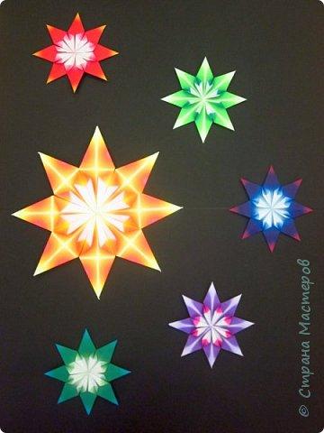 """И все-таки мы успели! Встречайте наш """"Парад звезд"""".  Наше объединение очень любит поделки в технике оригами. Поэтому Максим и Гриша захотели сделать работу в этой технике в номинации Карта звёздного неба.  фото 1"""