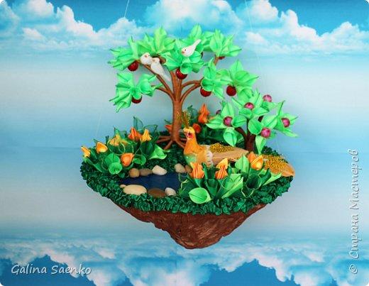 Существует ли рай? У каждого свое представление рая, у кого на Земле, у кого в небесах, а у меня в летающих островах. фото 1