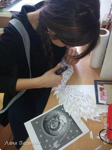 """Здравствуйте!  Представляю работу моей ученицы Ведерниковой Екатерины """"Мы - окрыленные мечтой"""".  фото 5"""