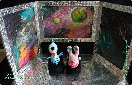 Где-то далеко-далеко-далеко в космосе живут два дружных и весёлых инопланетяшки. Знакомьтесь, это ГЛУНДА и РЕССИ. фото 7