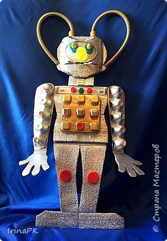 Знакомьтесь, это - косморобот Ио. Имя ему выбрано не случайно, ведь он отправится в свое длительное путешествие к планете Юпитер, а точнее к его спутнику Ио, для исследования, поэтому и имя выбрано такое. фото 11