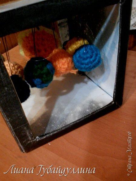 Сделала вот такую модель солнечной системы фото 5