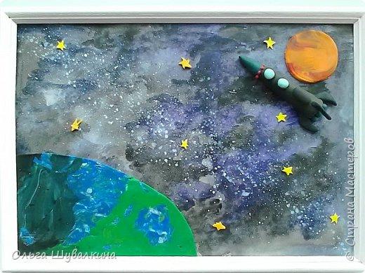 """Готовая работа  """"Волшебный мир планет"""".  фото 1"""