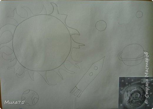 """Это моя работа """"Сатурн под лучами Солнца"""" фото 3"""