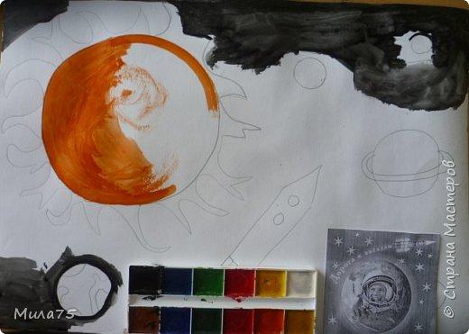 """Это моя работа """"Сатурн под лучами Солнца"""" фото 4"""