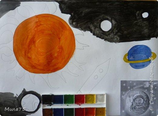 """Это моя работа """"Сатурн под лучами Солнца"""" фото 5"""