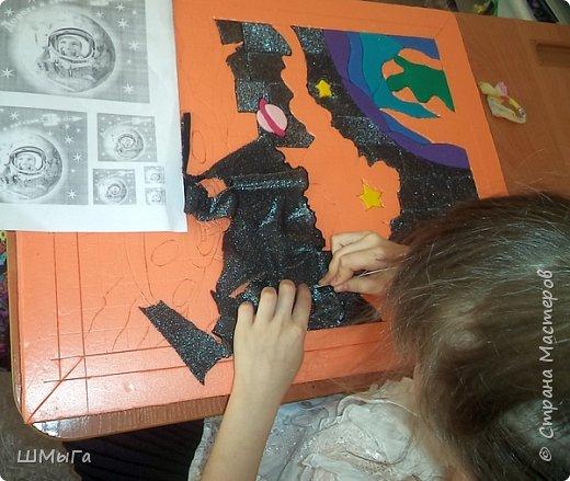 Сегодня закончена грандиозная работа! Две недели Полина трудилась над панно. фото 5