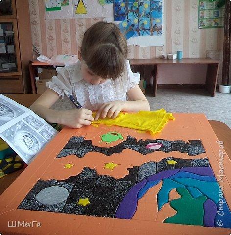 Сегодня закончена грандиозная работа! Две недели Полина трудилась над панно. фото 7