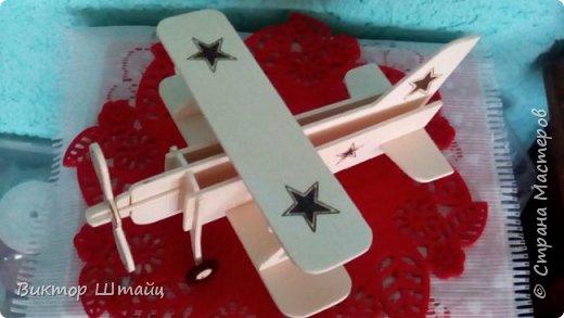"""Здравствуйте, Страна! Несмотря на всю свою занятость,не остался в стороне и вырезал вот такой самолёт Ан- 2 ,как его лаского в народе называли """"Аннушка"""". фото 9"""