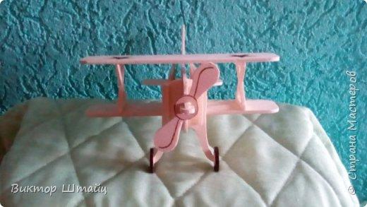 """Здравствуйте, Страна! Несмотря на всю свою занятость,не остался в стороне и вырезал вот такой самолёт Ан- 2 ,как его лаского в народе называли """"Аннушка"""". фото 2"""