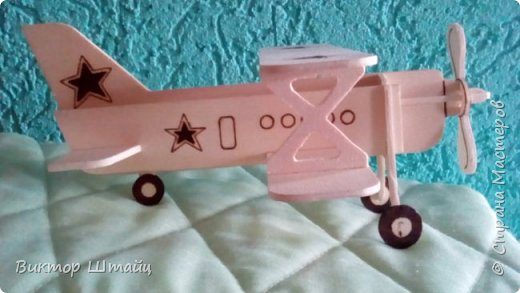 """Здравствуйте, Страна! Несмотря на всю свою занятость,не остался в стороне и вырезал вот такой самолёт Ан- 2 ,как его лаского в народе называли """"Аннушка"""". фото 3"""
