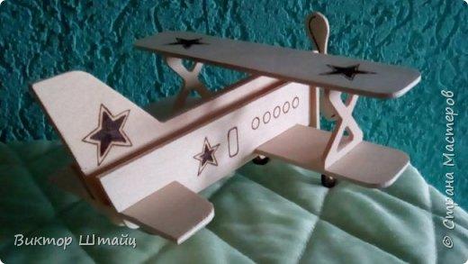 """Здравствуйте, Страна! Несмотря на всю свою занятость,не остался в стороне и вырезал вот такой самолёт Ан- 2 ,как его лаского в народе называли """"Аннушка"""". фото 4"""