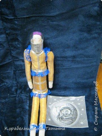 Классическая Тильда. Пора одевать космический костюм. фото 3