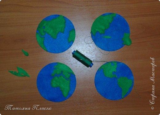 """""""И всё-таки она вертится"""" - прочитала я в условиях конкурса и сразу в голове завертелась идея: планета Земля крутится вокруг Солнца, отсчитывая космическое время. фото 7"""