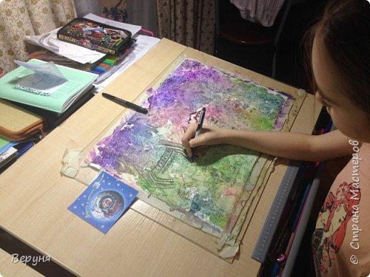 Эту работу выполнила моя дочь Кристина. Ей 12 лет. фото 2