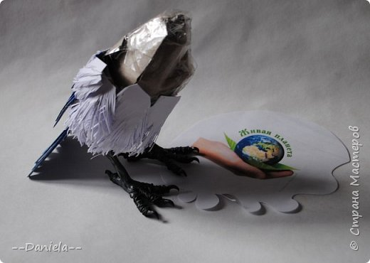 Небольшая простенькая птичка на конкурс:) фото 5