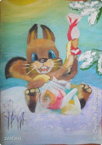 Белка с подарками. Обыкновенная белка. Численность. Ценный пушной зверь. Природный носитель возбудителей японского и весенне-летнего энцефалитов, туляремии и др. фото 1