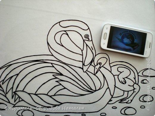 """Работа выполнена в технике """"обратная аппликация из пластилина"""". фото 3"""