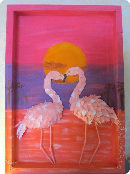 Всем добрый день!!!! Какой замечательный конкурс снова для нас организовала Татьяна Николаевна!!!!! Мимо пройти невозможно! Для этого конкурса решила сделать чудо птицу - фламинго. Фламинго всегда меня привлекали своим изяществом и грацией. фото 20