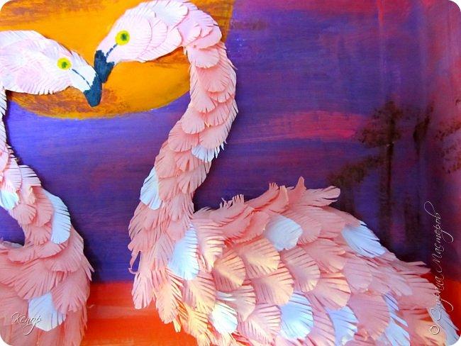 Всем добрый день!!!! Какой замечательный конкурс снова для нас организовала Татьяна Николаевна!!!!! Мимо пройти невозможно! Для этого конкурса решила сделать чудо птицу - фламинго. Фламинго всегда меня привлекали своим изяществом и грацией. фото 3