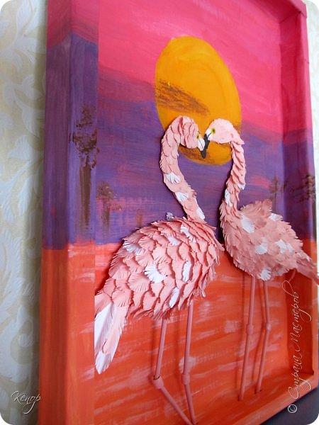 Всем добрый день!!!! Какой замечательный конкурс снова для нас организовала Татьяна Николаевна!!!!! Мимо пройти невозможно! Для этого конкурса решила сделать чудо птицу - фламинго. Фламинго всегда меня привлекали своим изяществом и грацией. фото 4