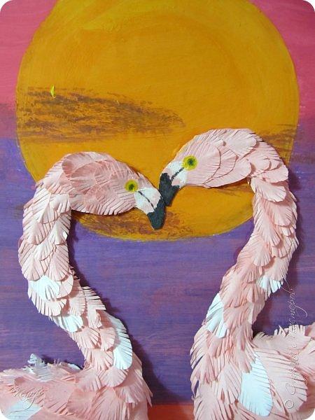 Всем добрый день!!!! Какой замечательный конкурс снова для нас организовала Татьяна Николаевна!!!!! Мимо пройти невозможно! Для этого конкурса решила сделать чудо птицу - фламинго. Фламинго всегда меня привлекали своим изяществом и грацией. фото 5