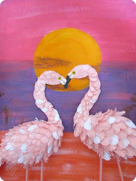 Всем добрый день!!!! Какой замечательный конкурс снова для нас организовала Татьяна Николаевна!!!!! Мимо пройти невозможно! Для этого конкурса решила сделать чудо птицу - фламинго. Фламинго всегда меня привлекали своим изяществом и грацией. фото 21