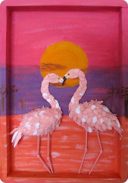 Всем добрый день!!!! Какой замечательный конкурс снова для нас организовала Татьяна Николаевна!!!!! Мимо пройти невозможно! Для этого конкурса решила сделать чудо птицу - фламинго. Фламинго всегда меня привлекали своим изяществом и грацией. фото 1
