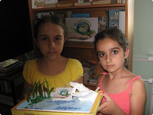 В пришкольный лагерь «Малышок» мы пришли, Друзей и подруг быстро нашли. Наталья Геннадьевна нам сообщила, Что «Страна Мастеров» новый конкурс   открыла «Живая природа».  фото 14