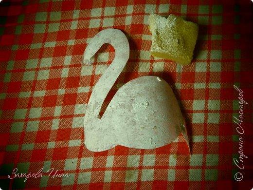 Розовый фламинго - украшение для торта фото 5