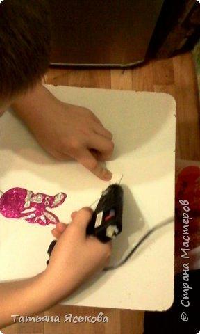 Всем привет! После объявления конкурса Арсений сразу решил сделать петушка магнитика. Вот он его красавец. фото 7