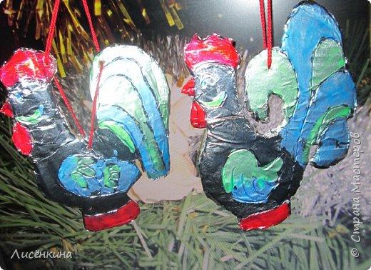 """Добрый день дорогие мастера и мастерицы. Хочу представить на конкурс «Встречаем Огненного Петуха» свою работу """"Старинный новый петушок"""" фото 19"""