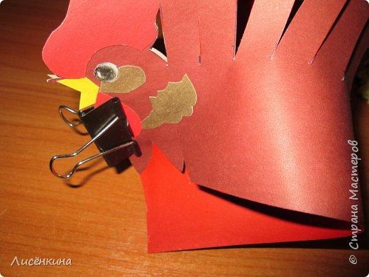 """Здравствуйте дорогие мастера и мастерицы. Хочу представить на конкурс«Встречаем Огненного Петуха» свою работу """"Красный петушок алый гребешок""""  фото 14"""