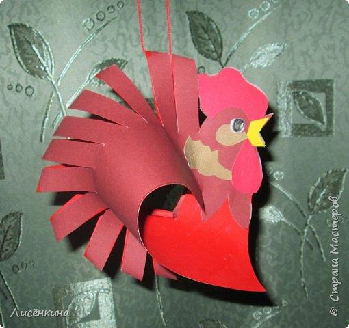 """Здравствуйте дорогие мастера и мастерицы. Хочу представить на конкурс«Встречаем Огненного Петуха» свою работу """"Красный петушок алый гребешок""""  фото 16"""