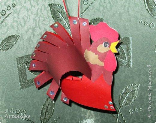 """Здравствуйте дорогие мастера и мастерицы. Хочу представить на конкурс«Встречаем Огненного Петуха» свою работу """"Красный петушок алый гребешок""""  фото 17"""
